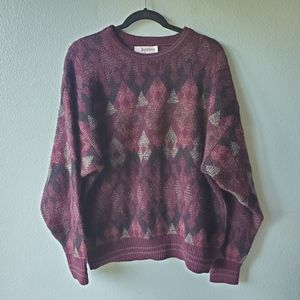 Jantzen USA Vintage 90s Mens Sweater Size Large Kn